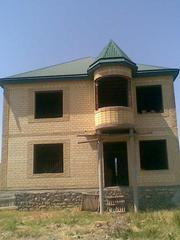Продаётся недостроенный  одноэтажный дом с мансардой