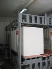 Оборудование производящее блоки ТЕРМОДОМ,  декоративные элементы,  термо